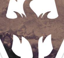 The Skyrim Symbol - Sky Background Simple Filter Sticker