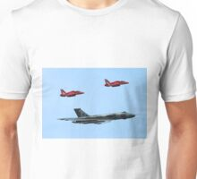 Red Arrows join the Vulcan Unisex T-Shirt