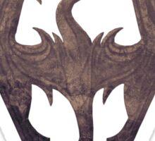 The Skyrim Symbol - Sky Background Detail Filter Sticker
