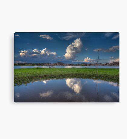 Cloud Patch Canvas Print
