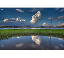 Cloud Patch Photographic Print