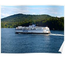 BC Ferries - Ernie Dickey Poster
