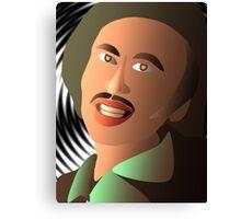 Portrait of a friend Canvas Print