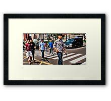 Da Boyz Framed Print