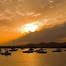 Ibizan sunset. by naranzaria