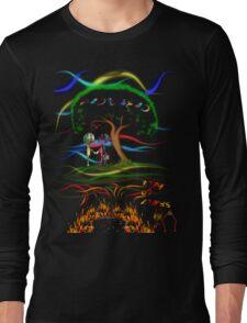 Radiohead King of Limbs Long Sleeve T-Shirt