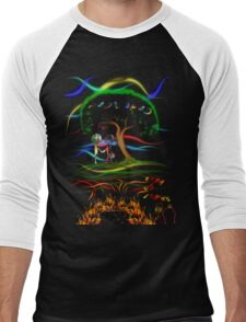 Radiohead King of Limbs Men's Baseball ¾ T-Shirt