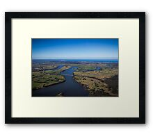 The Manning River - Taree Framed Print