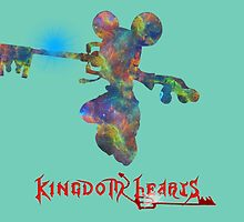 KINGDOM HEARTS by leoncourtney