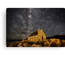 Tekapo Star Trails Canvas Print