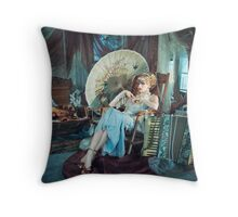 indochine IV Throw Pillow