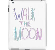 walk the moon handwritten logo iPad Case/Skin
