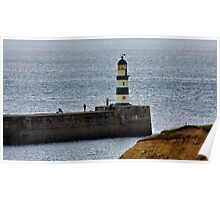 Seaham Harbour Light Poster