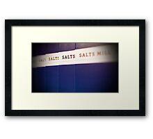 Salts Mill Framed Print
