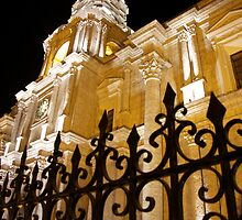 Cathedral at Night by Fiona Lockhart