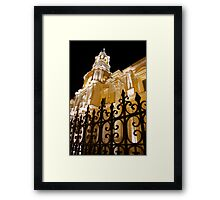 Cathedral at Night Framed Print
