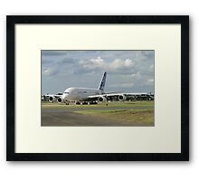Love at first flight A<380 Framed Print