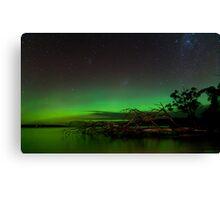 Aurora Australis, Huon Estuary  Canvas Print