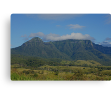 The Ramparts- Main Range. Scenic Rim. Queensland. Canvas Print