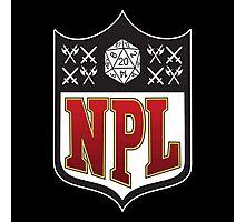 Nerd Poker League Photographic Print