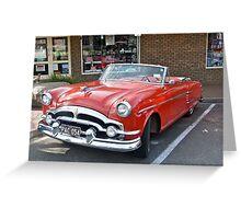 1954 Packard Convertible  Greeting Card