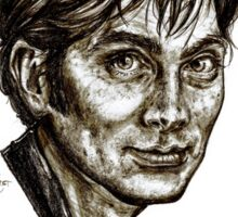 David Tennant - Doctor Who - Allons-y (Drawing) Sticker