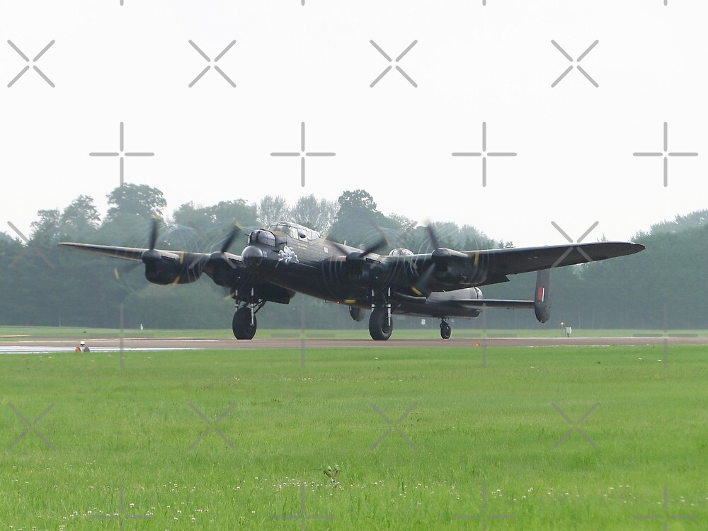 The Four Merlins Of Lancaster by Barrie Woodward