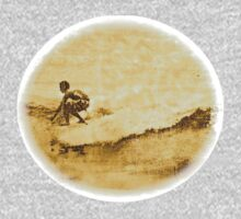 Sepia Surfer Kids Tee