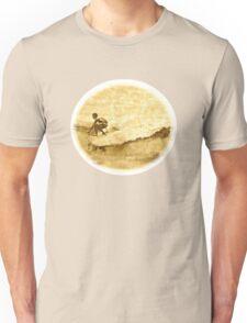 Sepia Surfer Unisex T-Shirt