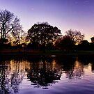 Rymell Park @ Dusk by Ali Brown