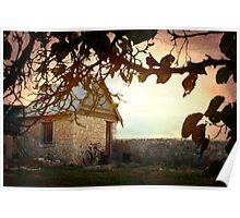 Grandfather's hut - Warooka S.A. Poster