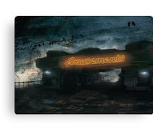 Amusements Canvas Print