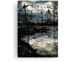 Oil Sky Canvas Print