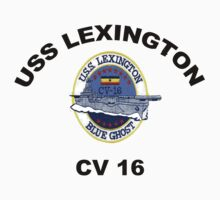 USS Lexington CV 16 by Spacestuffplus