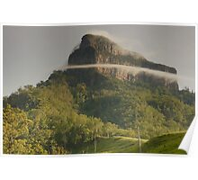 Band of mist- Mount Lindesay. Scenic Rim, Queensland. Poster