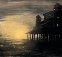 Sunset Pier by Robert Jackson