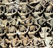 Angkor Wat Dancers by KelseyGallery