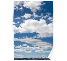 Summer sky Poster