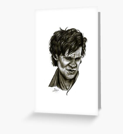 """Choices"" (Matt Smith/Doctor Who) Greeting Card"