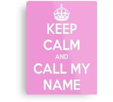 Call My Name - cheryl Metal Print