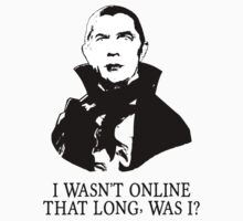 I Wasn't Online That Long, Was I? by jonah-vark