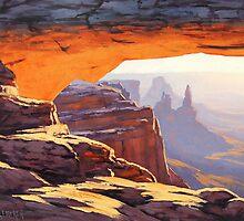 Arch Sunrise by Graham Gercken