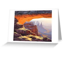 Arch Sunrise Greeting Card