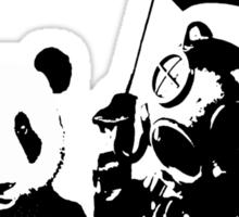 saving panda Sticker