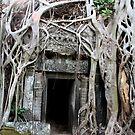 Angkor Temple Door by KelseyGallery
