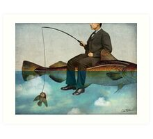 Sky Fishing Art Print
