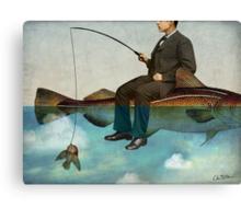 Sky Fishing Canvas Print