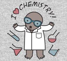 I Heart Chemistry - Scientist Chemist Mole Baby Tee