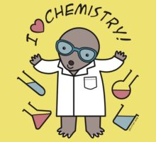 I Heart Chemistry - Scientist Chemist Mole One Piece - Short Sleeve