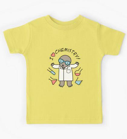 I Heart Chemistry - Scientist Chemist Mole Kids Tee